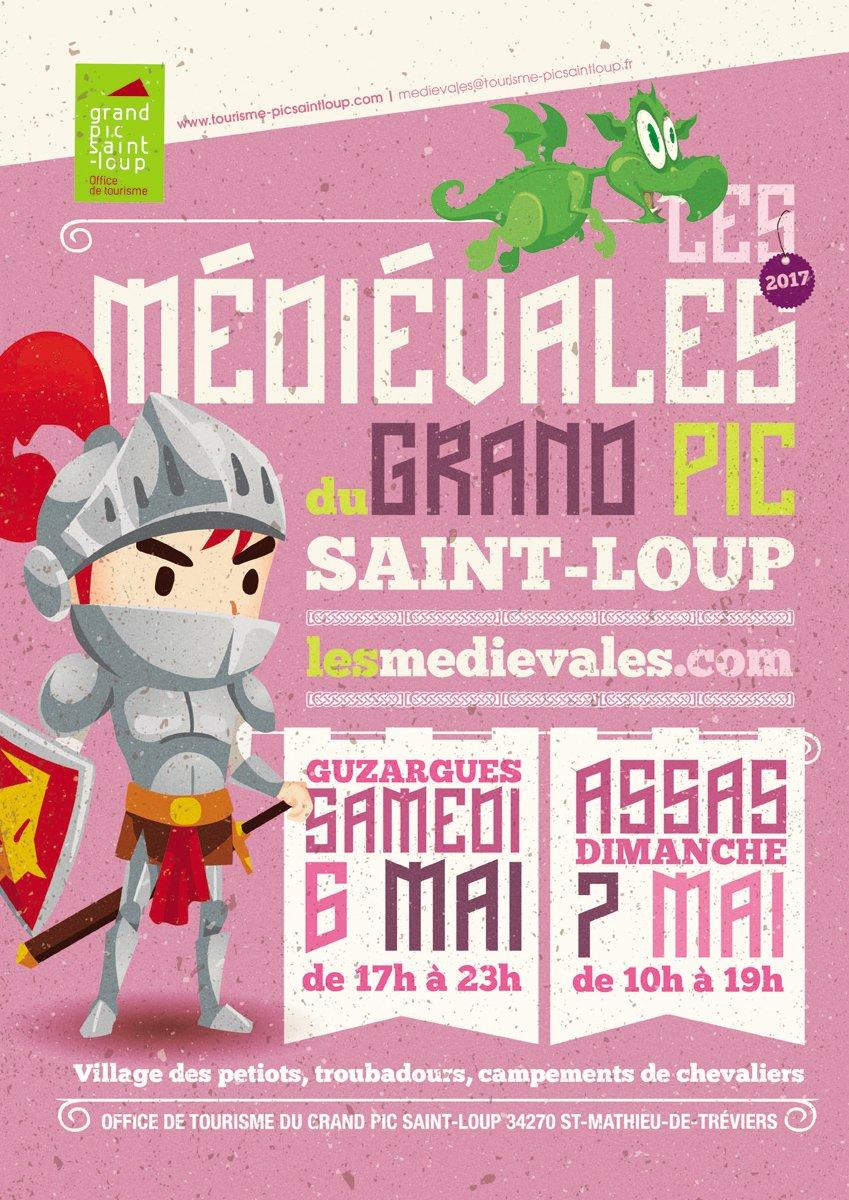 Animation de combat pour tous aux médiévales du Grand Pic Saint-Loup